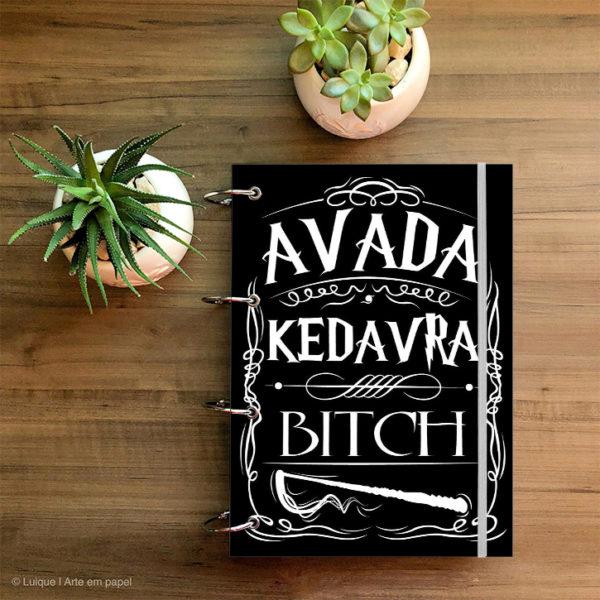 HP Avada Kedavra ffffff a4