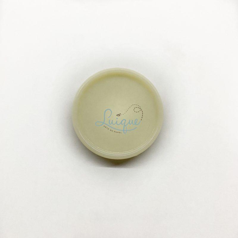 Disco leite condensado (amarelo bebê)