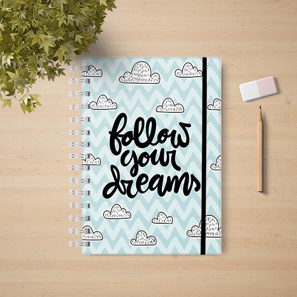 follow your dreams chevron 000000